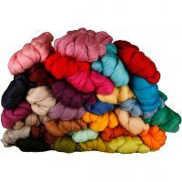 Laine, ép. 21 my, couleurs assorties, 32x100 gr/ 1 Pq.