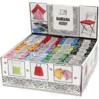 Bandana imprimé, couleurs assorties, 144 pièce/ 1 Pq.