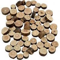 Mélange de bois, d: 10-15 mm, ép. 5 mm, 230 gr/ 1 Pq.