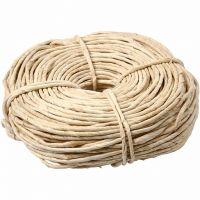 Corde de maïs, L: 3,5-4 mm, naturel, 500 gr/ 1 boule