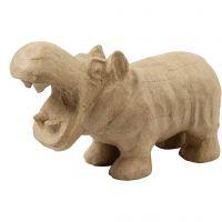 Hippopotame, H: 18 cm, L: 28 cm, 1 pièce