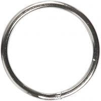 Anneaux brisés, d: 15 mm, 10 pièce/ 1 Pq.