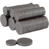 Aimants, d: 14+20 mm, ép. 3 mm, 2x250 pièce/ 1 Pq.