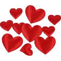 Coeurs en satin, 700 pièce/ 1 Pq.