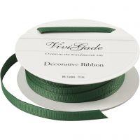 Ruban décoratif, L: 6 mm, vert, 15 m/ 1 rouleau