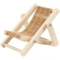 Chaise de plage, L: 9,5 cm, L: 7,5 cm, 1 pièce