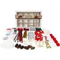 Boîte créative, Noël traditionnel, 1 set