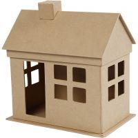 Maison, H: 23 cm, prof. 14,5 cm, L: 22,5 cm, 1 pièce