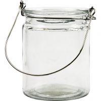 Lanterne, H: 10 cm, d: 7,6 cm, 12 pièce/ 1 boîte
