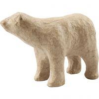 Ours polaire, H: 8,5 cm, L: 11,5 cm, 1 pièce