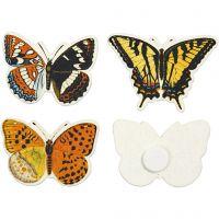 Papillons, dim. 45x33 mm, 75 pièce/ 1 Pq.