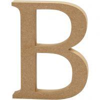 Lettre, B, H: 13 cm, ép. 2 cm, 1 pièce