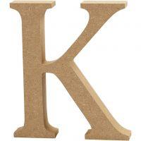 Lettre, K, H: 13 cm, ép. 2 cm, 1 pièce