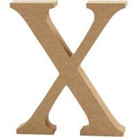 Lettre, X, H: 8 cm, ép. 1,5 cm, 1 pièce