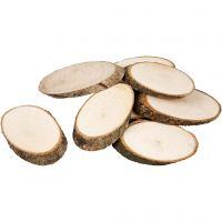 Disques en bois, ép. 8 mm, 20 pièce/ 1 Pq.