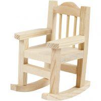Chaise à bascule, H: 8,8 cm, prof. 6,7 cm, L: 5,5 cm, 1 pièce