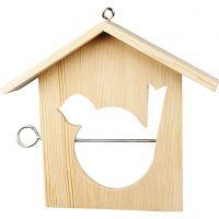 Mangeoire pour oiseaux, dim. 19x21 cm, 1 pièce