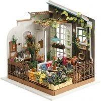 Pièce miniature DIY, Jardin, H: 21 cm, L: 19,5 cm, 1 pièce