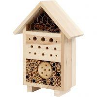 Hôtel à insectes, H: 26,1 cm, prof. 9,2 cm, L: 18,4 cm, 1 pièce