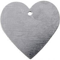 Coeur en métal, dim. 30x30 mm, 15 pièce/ 1 Pq.