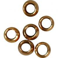 Perles à écraser, d: 2 mm, doré, 1000 pièce/ 1 Pq.
