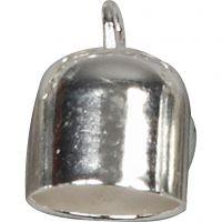 Embouts, d: 8 mm, argenté, 50 pièce/ 1 Pq.