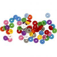 Anneaux de blocage, couleurs assorties, 48 pièce/ 1 Pq.