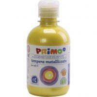 Peinture métallisée PRIMO, jaune, 300 ml/ 1 Pq.