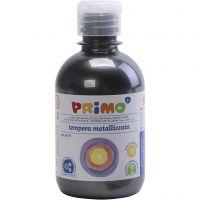 Peinture métallisée PRIMO, noir, 300 ml/ 1 Pq.