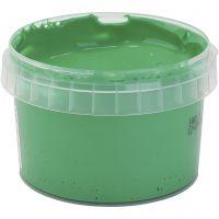 Peinture au doigt, vert, 250 ml/ 1 flacon