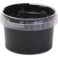 Peinture au doigt, noir, 250 ml/ 1 flacon