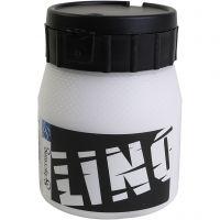 Encre lino, blanc, 250 ml/ 1 boîte