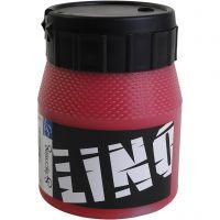Encre lino, rouge, 250 ml/ 1 boîte