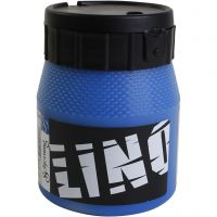 Encre lino, bleu, 250 ml/ 1 boîte