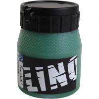 Encre lino, vert, 250 ml/ 1 boîte