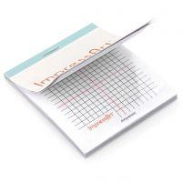 Bloc de protection contre les rayures, dim. 6,5x8 cm, 1 pièce