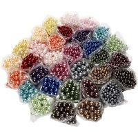 Perles de cire, diamètre intérieur 1,5-2 mm, 32x20 gr/ 1 Pq.