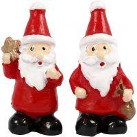 Petites figurines, H: 35 mm, L: 17 mm, 2 pièce/ 1 Pq.