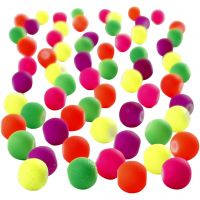 Perles fluos, d: 6 mm, diamètre intérieur 1,2 mm, 200 gr/ 1 Pq.