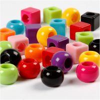 Multi Mix, dim. 11 mm, diamètre intérieur 7 mm, couleurs assorties, 1700 ml/ 1 Pq., 1000 gr