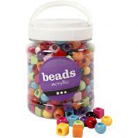 Multi Mix, dim. 11 mm, diamètre intérieur 7 mm, couleurs assorties, 700 ml/ 1 boîte, 420 gr