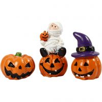 Petites figurines, H: 1,5-3,5 cm, L: 2 cm, 3 pièce/ 1 Pq.