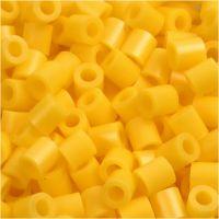Perles à repasser, dim. 5x5 mm, diamètre intérieur 2,5 mm, medium, jaune (32227), 1100 pièce/ 1 Pq.