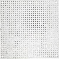 Plaque à picots, Grand carré, dim. 14,5x14,5 cm, 10 pièce/ 1 Pq.