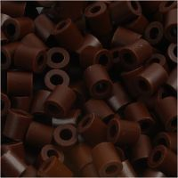 Photo Pearls, dim. 5x5 mm, diamètre intérieur 2,5 mm, brun (3), 1100 pièce/ 1 Pq.