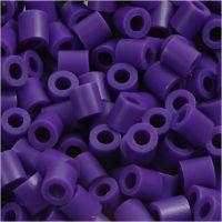 Photo Pearls, dim. 5x5 mm, diamètre intérieur 2,5 mm, violet foncé (11), 1100 pièce/ 1 Pq.