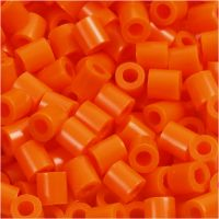 Photo Pearls, dim. 5x5 mm, diamètre intérieur 2,5 mm, orange transparent (13), 6000 pièce/ 1 Pq.