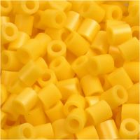 Photo Pearls, dim. 5x5 mm, diamètre intérieur 2,5 mm, jaune (14), 1100 pièce/ 1 Pq.