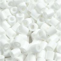 Photo Pearls, dim. 5x5 mm, diamètre intérieur 2,5 mm, blanc (15), 6000 pièce/ 1 Pq.