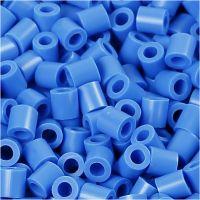 Photo Pearls, dim. 5x5 mm, diamètre intérieur 2,5 mm, bleu (17), 1100 pièce/ 1 Pq.